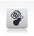 buy meat icon vector image vector image