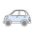 car vehicle isolated vector image vector image