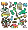 Kids Fashion Badges Patches Stickers vector image vector image