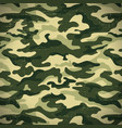military camouflage background with grunge effect vector image