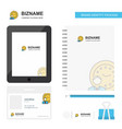 deadline business logo tab app diary pvc employee vector image vector image
