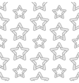 Folded Stars Seamless Pattern vector image vector image