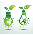 Green idea 2 vector image vector image