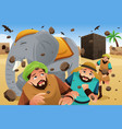 islam story of the owners of the elephant vector image