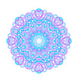 ornamental abstract mandala vector image vector image