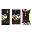 Summer Fruit Banners vector image vector image