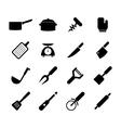 Kitchen tool icon vector image