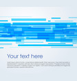abstract rectangle background in blue color vector image vector image
