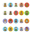 Avatar Icons 3 vector image vector image