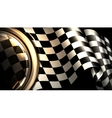 Checkered Background Horizontal vector image vector image