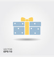 gift box icon vector image