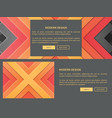 modern design web page vector image