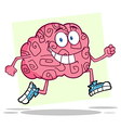 Running brain vector | Price: 1 Credit (USD $1)