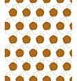 Sealing wax press pattern vector image vector image