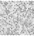 Gray geometric texture seamless vector image