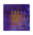 Dark Violet Abstract Low Polygon Background vector image vector image