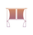 house windows design vector image vector image