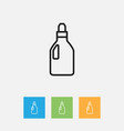 of hygiene symbol on laundry vector image vector image