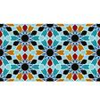 Oriental mosaic decoration vector image vector image