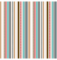 Stripes Seamless pattern Retro colors pattern vector image vector image