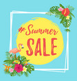 summer design for sale vector image vector image
