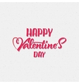 Valentines day - calligraphy typography greeting vector image vector image