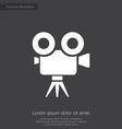 video camera premium icon vector image