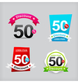 022 Collection of colorful web tag banner for vector image vector image