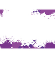 Background with purple blotces vector image vector image