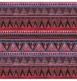 Ethnic boho seamless pattern Tribal art print vector image vector image