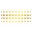 graduation cap golden halftone effect vector image