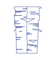papers stack office supply isolated icon design vector image vector image