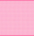 pink background grid pattern small squares white vector image