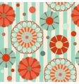 spring pastel floral seamless pattern vector image vector image