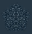 vintage paper pattern vector image vector image
