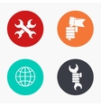 modern labour day colorful icons set vector image