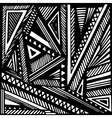geometric grayscale background vector image