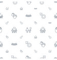 boy icons pattern seamless white background vector image vector image