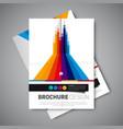 brochure layout design image vector image vector image
