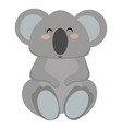 cartoon koala a koala vector image vector image