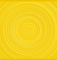 geometrical golden gradient concentric circle vector image vector image