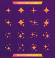 original stars vector image vector image