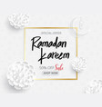 ramadan backgrounds sale promotion banner vector image