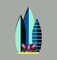 sea surfing pattern with different type surf vector image vector image