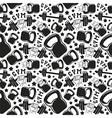 Seamless pattern gym club