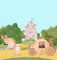 Fairytale carriage vector image