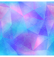 abstract blue color triangles seamless pattern vector image vector image