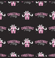 christmas party pattern holiday seamless vector image vector image