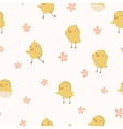 Easter concept seamless pattern vector image vector image
