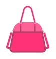Pink handbag fashion woman vector image vector image